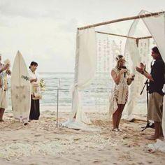 Surfer wedding :)