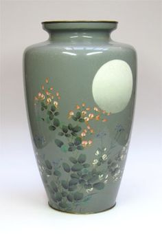 Antique of the Week! Japanese Cloisonne Vase by Grays Antiques, via Flickr