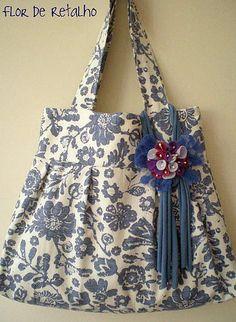 Bolsa... Floral Azul | Claudia Martinelli | Flickr