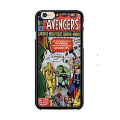 Avengers Comic IPhone 6| 6 Plus Cases