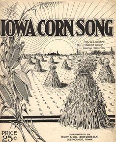 Iowa corn song :: Historic Sheet Music