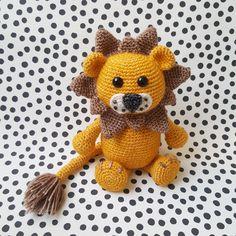 Haakpatroon leeuw Lewis - Sugary Sweet Design