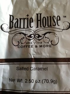 Barrie House Salted Caramel Coffee Review - News - Bubblews