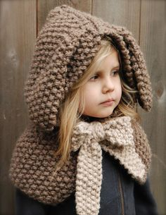 Ravelry: The Royalynn Rabbit Hood pattern by Heidi May