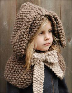 Ravelry: The Royalynn Rabbit Hood pattern by Heidi May