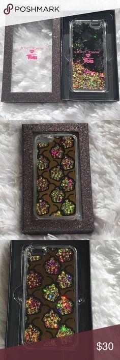 NWT✨BETSEY JOHNSON Trolls Glitter & Stars  ✨NWT✨BETSEY JOHNSON XoX DreamWorks Trolls Glitter & Stars Cupcake iPhone 6 Case BETSEY JOHNSON Accessories Phone Cases