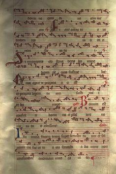 Moosburger Graduale um 1360 Moosburg Cim. 100 (= 2° Cod. ms. 156)  Folio 57