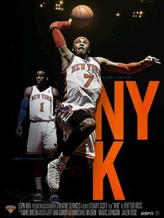 Amare Stodemire   Carmelo Anthony New York Knicks 9a7280960eaa