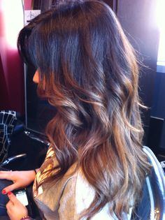 What my hair pretty much looks like Ombre!