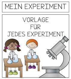 Mein Experiment #Vorlage #freebie