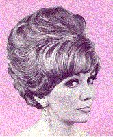 Great looking side swept short hair Beehive Hairstyles, 1950s Hairstyles, Vintage Hairstyles, Vintage Hair Salons, 1960s Hair, Hair Reference, Hair Creations, Creative Hairstyles, Hair Photo