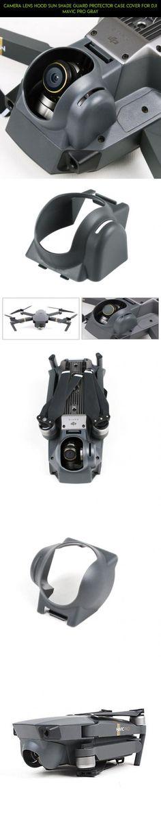 Camera Lens Hood Sun Shade Guard Protector Case Cover for DJI Mavic Pro Gray #fpv #camera #sun #shopping #plans #parts #shade #racing #pro #products #kit #mavic #technology #hood #tech #drone #gadgets