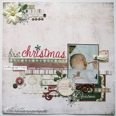 First Christmas - Scrapbook.com