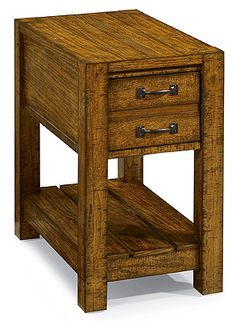 Peters Revington Rustics Chairside Cabinet