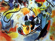 Artist: Wassily Kandinsky Title: The last judgment y Product type: Gallery-wrapped canvas art Style: Contemporary Format: Horizontal Size: Extra Large Subject: Contemporary Medium: Painting Image dime Kandinsky Prints, Kandinsky Art, Wassily Kandinsky Paintings, Oil On Canvas, Canvas Art, Canvas Prints, Big Canvas, Henri Matisse, The Last Judgment