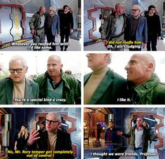 """""""Whatever you roofied him with, I'd like some"""" - Mick and Stein #LegendsOfTomorrow ((These two!!))"""