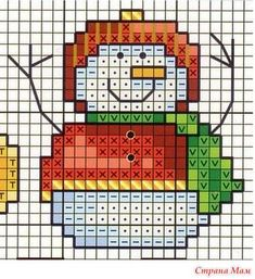 Large collection of free cross stitch charts and graphs: small and easy . - Big collection of free cross stitch patterns and charts: Small and easy Christmas cross stitch patt - 123 Cross Stitch, Free Cross Stitch Charts, Funny Cross Stitch Patterns, Cross Stitch Cards, Cross Stitch Designs, Cross Stitching, Cross Stitch Embroidery, Embroidery Patterns, Loom Patterns