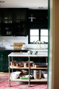 Conservative kitchens can be beautiful: ain't nothing wrong with subway tile and shaker cabinets