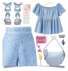 """Bottoms Up: Happy Hour, Yoins!"" by samra-bv ❤ liked on Polyvore featuring Martha Medeiros and Altuzarra"