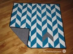 Herringbone quilt by Shannon Smith   Project   Quilting / Quilts   Kollabora