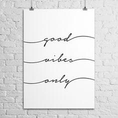 Pôster Good Vibes