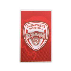 Μεταλλικό Pin Πρωταθλητής - Olympiacos BC