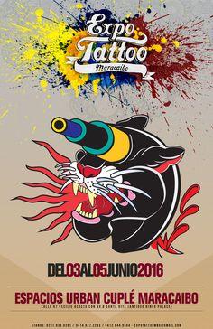 Confirmada la Expo Tattoo Maracaibo 2016 para el mes de junio http://crestametalica.com/confirmada-la-expo-tattoo-maracaibo-2016-mes-junio/ vía @crestametalica