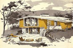 House & Garden Book of Plans, 1964 by Zero Discipline, via Flickr