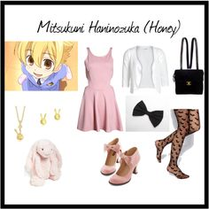 """""""Ouran High School Host Club Casual cosplay"""" by briea14 on Polyvore"""
