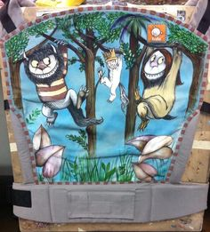 Where The Wild Things Are (Customized - hand painted by Amber Anderson of TATTOOLA)