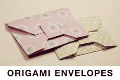 How to make Origami Envelopes!: Traditional Origami Envelope Tutorial
