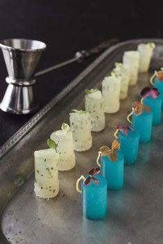 Barton G. also serves Pop Shots, which are one-bite jello shots in mojito and kamikaze flavors.