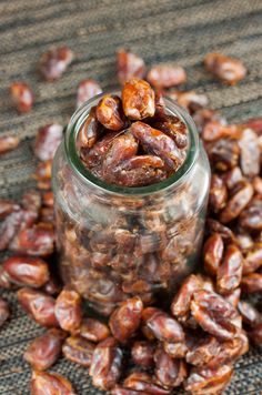 The simplest way of adding dates to dishes is by turning them into a date paste. It stores well and is easily added to anything that needs extra sweetness
