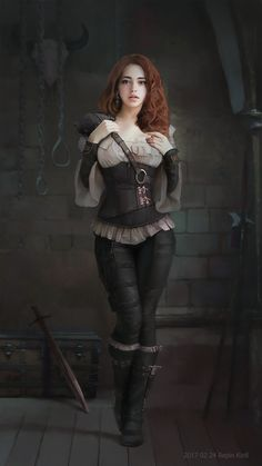 """A grimdark """"guy fantasy"""" minus the misogyny.The New Magic is a gritty fantasy about a modern man thrust into a Game of Thrones-type world, only told wi. Steampunk Outfits, Mode Steampunk, Steampunk Fashion, Gothic Fashion, Fantasy Women, Fantasy Girl, Fantasy Princess, Disney Princess, Fantasy Characters"""