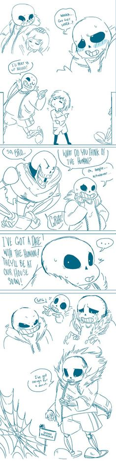 Undertale Doodles by AutopsyJuice