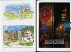 Miyazaki Spirited Away, Studio Ghibli, Book Art, Painting, Painting Art, Paintings, Painted Canvas, Drawings