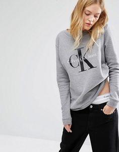 Calvin Klein Jeans –  Sweatshirt mit Logo