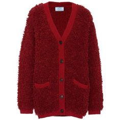 Prada Alpaca and Wool-Blend Cardigan