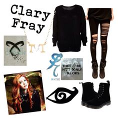 Clary Fray inspired outfit