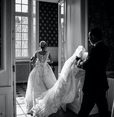 If you like this picture and hope the same for your coming wedding, don't hesitate to contact our agency : weddinginfrance.fr/en  #russianweddinginfrance#frenchwedding#frenchchateau#marriedcouple#princesswedding#jewelsdress#whiteweddingdress#weddingdresstrain#train#blackandwhite#mariageenfrance#frenchmarriage#weddinginparis#weddinginfrance#frenchwedding#uniqueplacetomarry