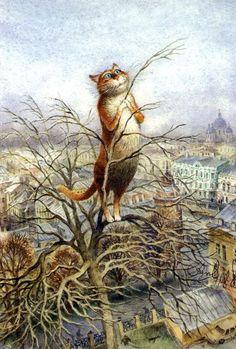 Владимир Румянцев и его очаровательные коты