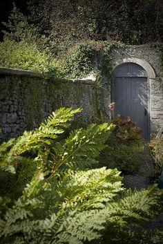 Sizergh Castle Garden Door, Cumbria, England