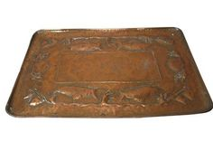 1900 Newlyn School Copper Serving Dish - lyonandturnbull