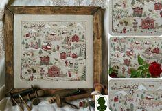Рождественская вышивка. Обсуждение на LiveInternet - Российский Сервис Онлайн-Дневников