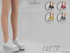 The Sims 4 Madlen Cosette Shoes Sims Four, Sims 4 Mm Cc, Sims 4 Mods Clothes, Sims 4 Clothing, The Sims 4 Shoes, Vêtement Harris Tweed, Los Sims 4 Mods, Dr Shoes, Pelo Sims