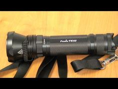 Review about Fenix Flashlight TK40 – High Performance LED Flashlight with 630 Lumens