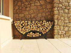Easy and Creative DIY Firewood Rack and Storage Ideas tag: outdoor firewood rack ideas, firewood storage rack ideas, indoor firewood rack ideas, firewood rack cover diy, ideas for firewood rack. Firewood Rack Plans, Indoor Firewood Rack, Firewood Logs, Firewood Storage, Kiln Dried Logs, Wood Store, Pub Decor, Rack Design, Log Burner
