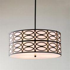 modern lamp shade for chandelier light | MODERN-BLACK-AND-BEIGE-DRUM-SHADE-CEILING-PENDANT-CHANDELIER-LIGHT ...