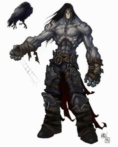 Darksiders II - Concept Artwork i Character Art   Synteza historii i sztuki