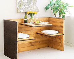 How to build a retro dining nook